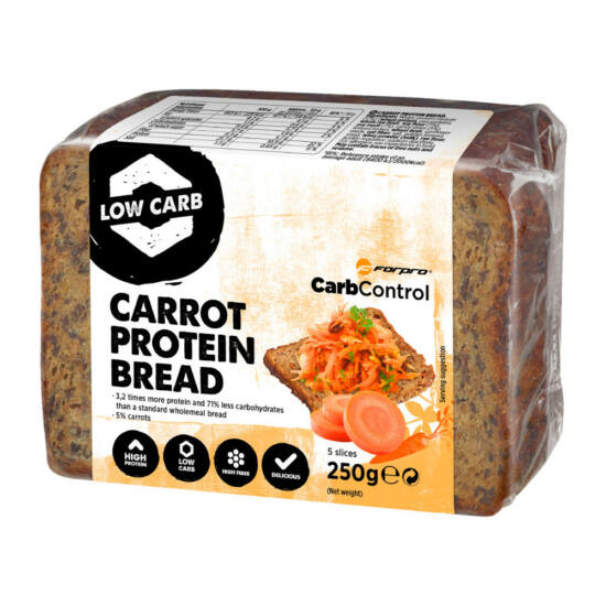 S8 Forpro Protein Bread répás, 250g